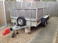 Bateson twin axle trailer