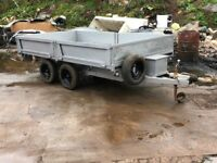 Bateson's tipper trailer twin axle 10x6 feet