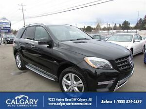2012 Mercedes-Benz M-Class ML 350 BlueTEC/ ONE OWNER/DEALER SERV