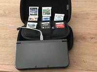 New 3DS XL + 8 games