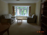 Central Woking, prime position, ground floor one bedroom furnished flat,immaculately presented.