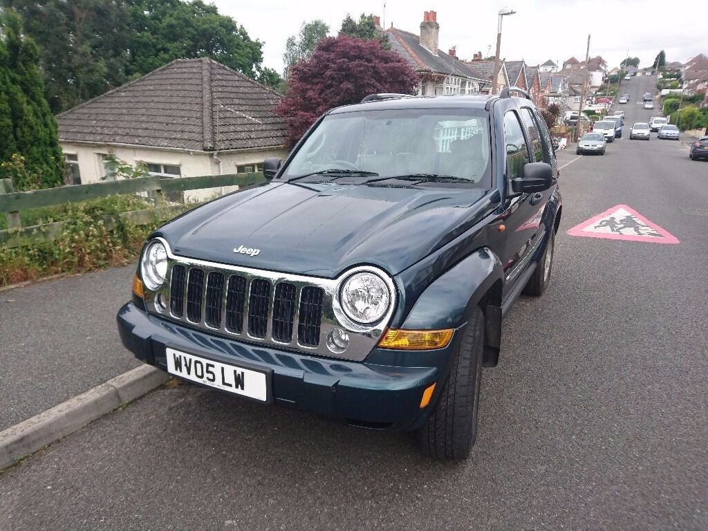 Jeep Cherokee Crd 2005 Special Edition 4x4 Diesel 28l Manual With Liberty Tow Bar