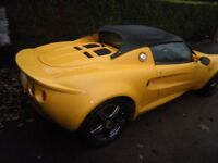 Lotus Elise 1999 in Norfolk yellow