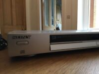 Sony DVD player + Scart cable