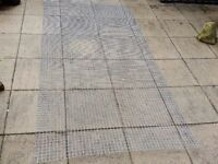 One 8 foot x 4 foot Galvanized welded wire mesh