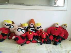 Disney The Incredibles Talking and Cuddly Toys