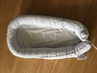 Baby nest / Cocoon - light grey