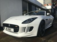 Jaguar F-Type 5.0 V8 S Quickshift 2dr ONLY 13622 GENUINE MILES