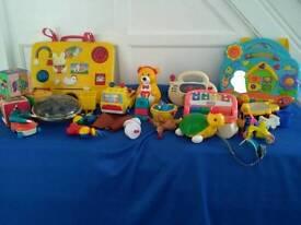 Toys, toys, toys.