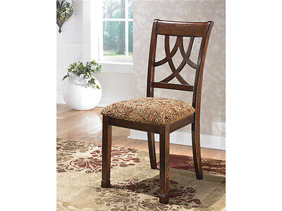 Modern Traditional Chair (Traditional Modern Design Medium Brown Dining Room Side Chairs Dining Set of 4pc )