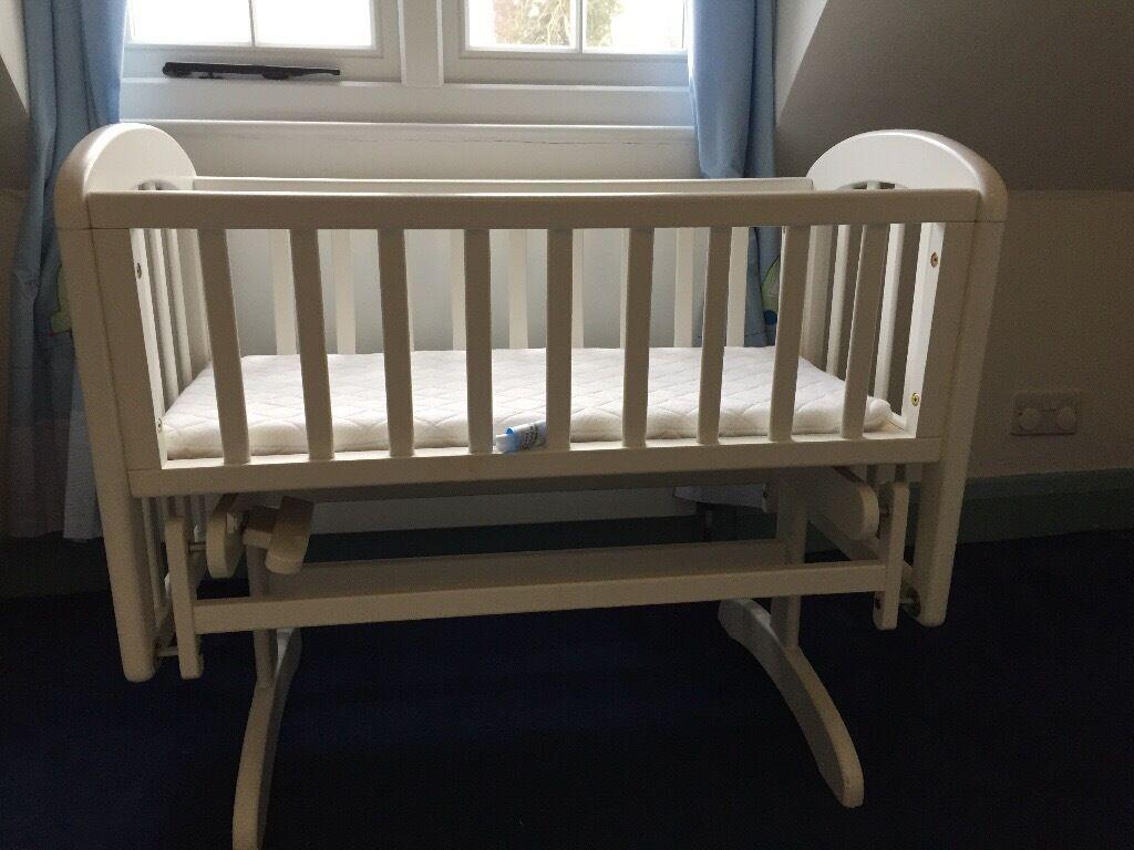 Baby cribs john lewis - John Lewis Anna Glider Crib With Mattress