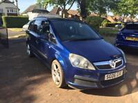 Vauxhall zafira 1.6 life 7 seater