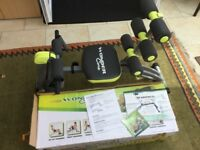 Wonder Core 2 Home Multi Gym. Includes box, leaflets and DVD with 3 complete workouts.