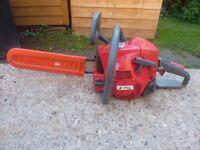 Efco petrol chainsaw not a Chinese cheap made machine