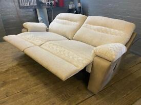 LOVELY SCS FABRIC SOFA RECLINER 3 SEATER