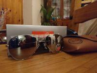 Rayban Aviator Polarised Sunglasses