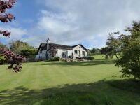 4 bed detached house set in 5 acres with open views over the local countryside