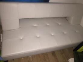 Dwell, Pisa Sofa Bed/White