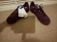 Adidas as 520 uk 10.5 marron suede