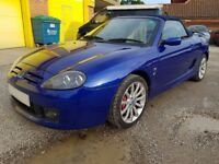 MG TF 1.8 CONVERTIBLE 2005 ,SPORTS EXHAUST & TOYO PROXES ALL ROUND,SUPER FUN TO DRIVE !