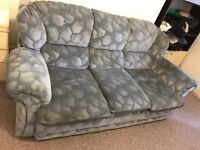 Sofa and armchair for quick sale £50 ONO