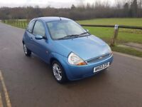 Ford Ka Luxury 1.3 78,000 miles 12 months mot full leather interior