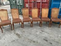 6. X Berger. Back. Dining Chairs