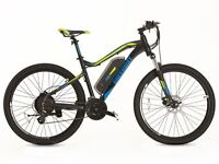 new! GREENWAY electric mountain bike, PANASONIC cell lithium battery LCD, PAS system £850