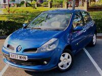 2007 Renault Clio 5 doors 1.4 16v Petrol Dynamique £ 1100