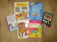 SET OF 6 ENGLISH READING BOOKS - beginners + more advanced level - REDUCED TODAY!