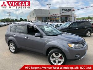 2008 Mitsubishi Outlander XLS/LEATHER/LOCAL TRADE!!