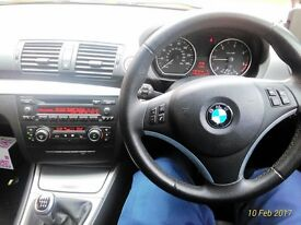 BMW 1 series 118d ONLY £30 ROAD TAX,LOW MILAGE!!!!!!!!!!!!!