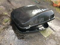 Halfords roof box used no key