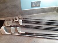 Controller Roll and Bulge Irons 9,8,7,6,5,4,3, PW, SW, and one Apollo 46