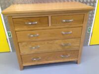 Solid oak chest of drawers dresser sideboard - Laura Ashley John Lewis Lombok raft oka