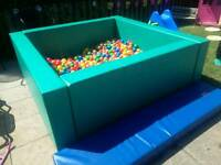 Soft play ball pit / pool hire