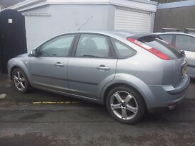 breaking 2005 ford focus zetec all parts available . screen smashed . keys lost . 1.6 petrol