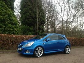 2007 VAUXHALL CORSA 1.6 TURBO VXR ARDEN BLUE NATIONWIDE DELIVERY WARRANTY & CARD FACILITY AVAILABLE
