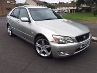 Lexus IS200, 12 months MOT, really nice car, special wheels, amazing drive!