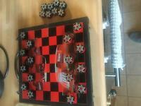Genuine snap on draughts set