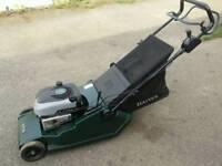 Hayter harrier 48 petrol lawnmower selfpropelled In good working order