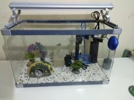Full set aquarium for sale