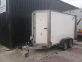 I for williams box trailer twin axle