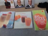 Selection of health&self help books,all excellent condition smoke free home.