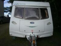 2004 Lunar Lexon FB (fixed Bunks) 6 berth caravan, twin axel with motormovers on each wheel