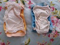 Various cloth nappies for sale: Gnappies, TotsBots and Bumgenius