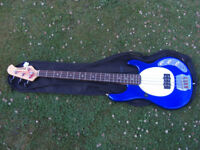 Musicman Stingray bass copy. As new. Swaps only.