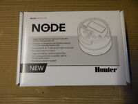 Hunter Node 100 battery powered garden irrigation controller.