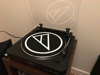 Audio Technica AT-LP 60 USB turntable.