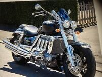 Triumph rocket 3 mint loaded